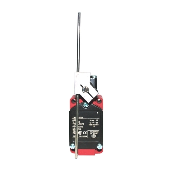 High Temperature Limit Switch with Adjustable Rod Lever