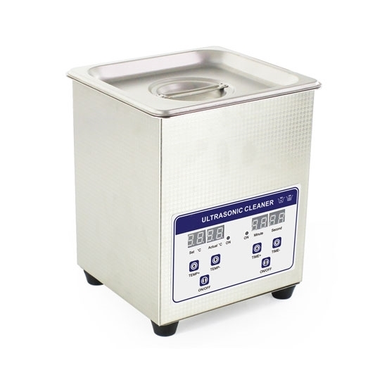 2L Ultrasonic Cleaner for Jewelry/Glasses/Watches