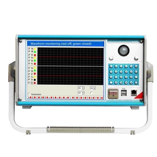 6 Phase Relay Test Set, 110V 220V Adjustable DC Output
