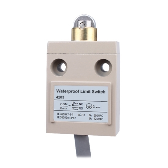 Waterproof Limit Switch, 1NO 1NC, 3A/250VAC, 5A/125VAC