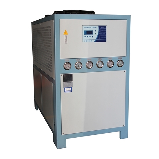 15 HP 12 Ton Air Cooled Industrial Water Chiller