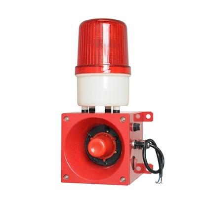 Audible and Visual Alarm, 100-120dB, 380VAC/220VAC/24VDC