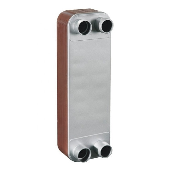 Counter Flow Brazed Plate Heat Exchanger, 250/300 Plate