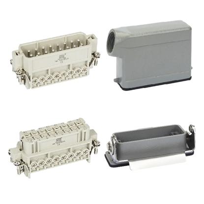 Heavy Duty Connector, 16 Pin, 250VAC/500VAC, 16A