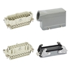 Picture of Heavy Duty Connector, 16 Pin, 250VAC/500VAC, 16A