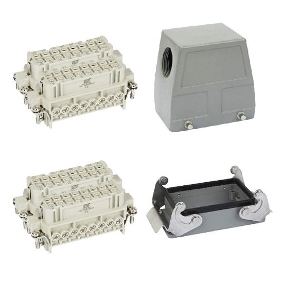 Heavy Duty Connector, 32 Pin, AC 250 Volt / AC 500 Volt, 16A
