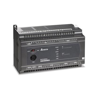 Programmable Logic Controller, 16/24/32/40/60 I/O, Relay/Transistor Output