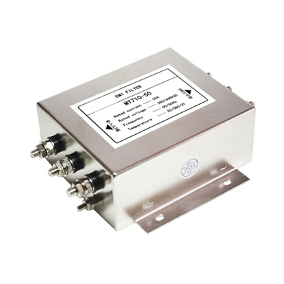 EMI Line Filter, 50A, 3 phase