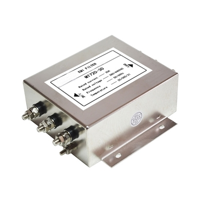 30A 3-phase EMI Line Filter, 2 Stage
