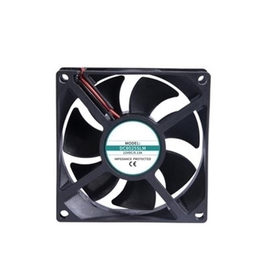 12V/24V DC Cooling Fan, 120mm x 120mm x 25mm