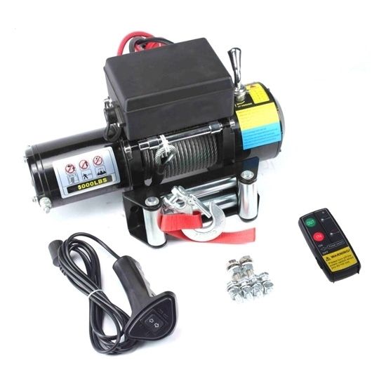 5000 lbs 12V/24V ATV 4x4 Electric Winch