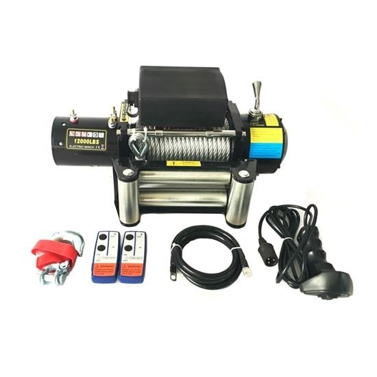 12000 lbs 12V/24V ATV 4x4 Electric Winch
