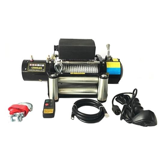 13000 lbs 12V/24V ATV 4x4 Electric Winch