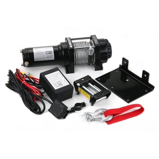 2500 lbs 12V/24V ATV Electric Winch