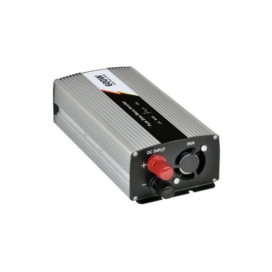 600 Watt Pure Sine Wave Power Inverter, 12V DC to 110V AC