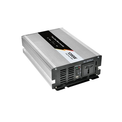 1200 Watt Pure Sine Wave Power Inverter, 24 Volt DC to 240 Volt AC