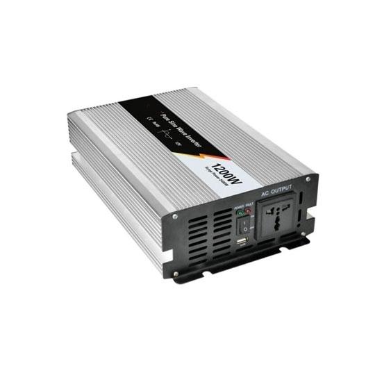 1200 Watt Pure Sine Wave Power Inverter, 24 Volt DC to 240 Volt AC