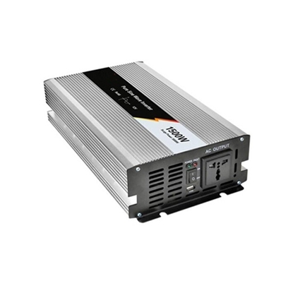 1500 Watt Pure Sine Wave Power Inverter, 12V DC to 120V AC
