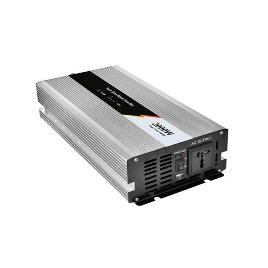 2000 Watt Pure Sine Wave Power Inverter, 12V DC to 240V AC