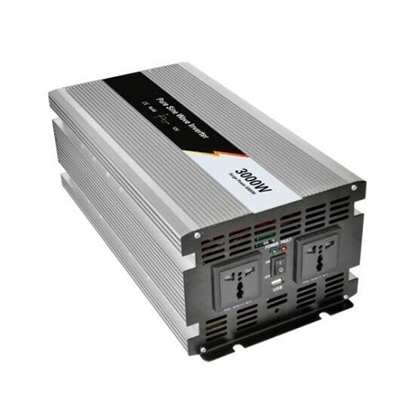 3000 Watt Pure Sine Wave Power Inverter, 24V DC to 120V AC