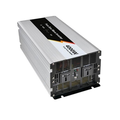 4000 Watt Pure Sine Wave Power Inverter, 12V DC to 110V AC