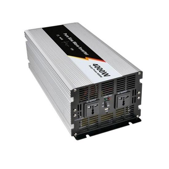 4000 Watt Pure Sine Wave Power Inverter, 12V DC to 110V AC