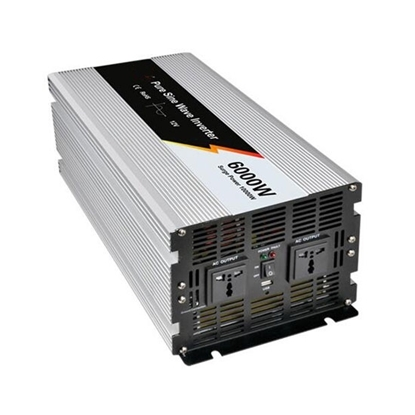 6000 Watt Pure Sine Wave Power Inverter, 48V DC to 240V AC