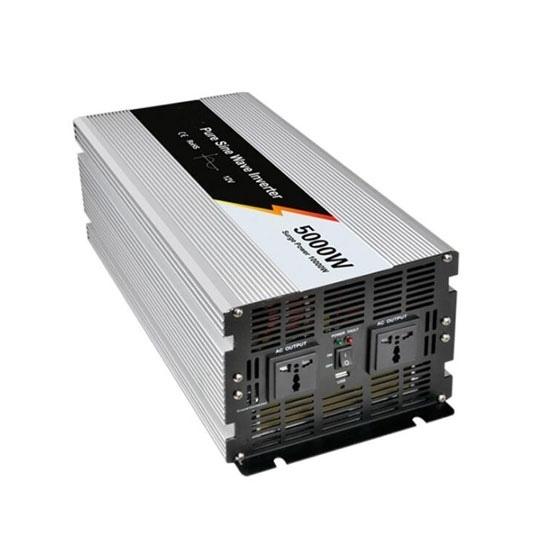 5000 Watt Pure Sine Wave Power Inverter, 24V DC to 220V AC