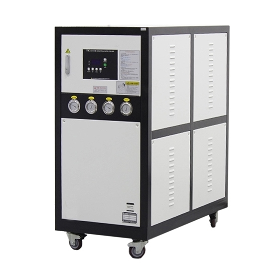 8 HP 6 Ton Air Cooled Industrial Water Chiller