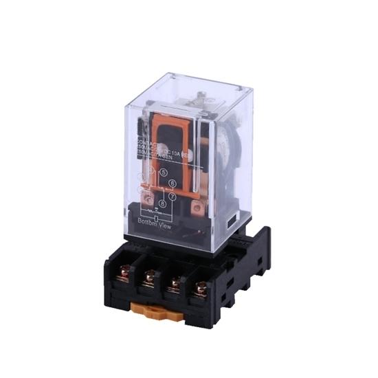 Electromagnetic Relay, 8-pin DPDT, 12V/24V/110V/220V coil