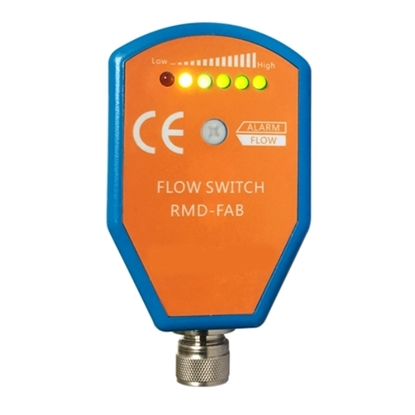 Thermal Dispersion Gas Flow Switch, PNP/ NPN