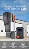 Picture of 1kW Industrial Door Opener, 150Nm, 55m² Area, 7m