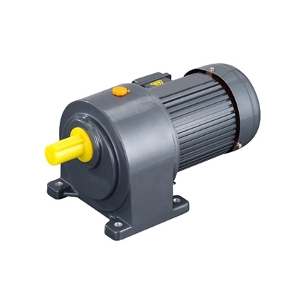 100W 3-Phase AC Gear Motor, Horizontal, Ratio 3~100