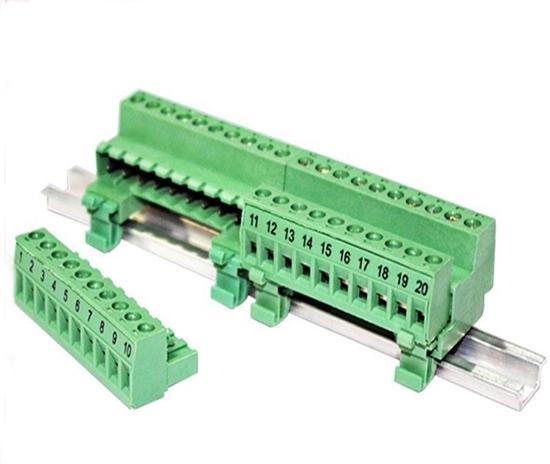Pluggable Screw Terminal Block, 10P /20P, 300V, 8A