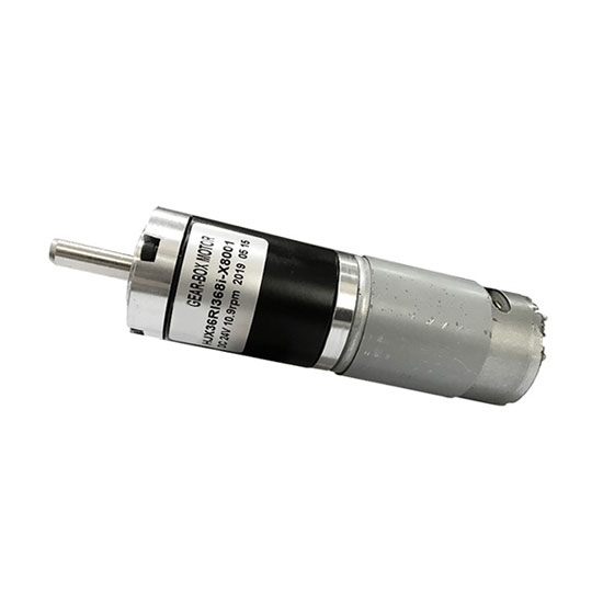 Brushed DC Motor with Gearbox, 4000rpm, 12V/24V, 36mm