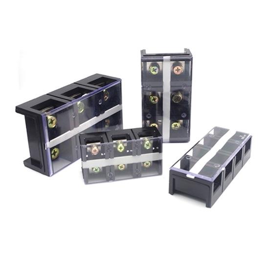 High Current Terminal Block, 60A/100A/150A/200A/300A/400A/600A, 3/4 Pole