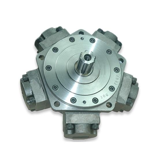 40 hp 400-750cc Radial Piston Hydraulic Motor, 25MPa