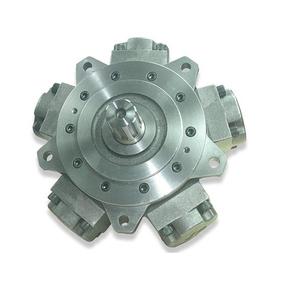 50 hp 600-1000cc Radial Piston Hydraulic Motor, 20MPa
