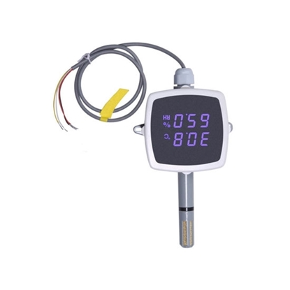Temperature and Humidity Sensor/Transmitter with Display