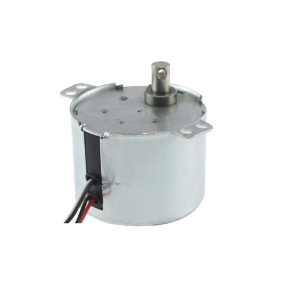 1 rpm AC Synchronous Gear Motor, 12V/24V/110V/220V