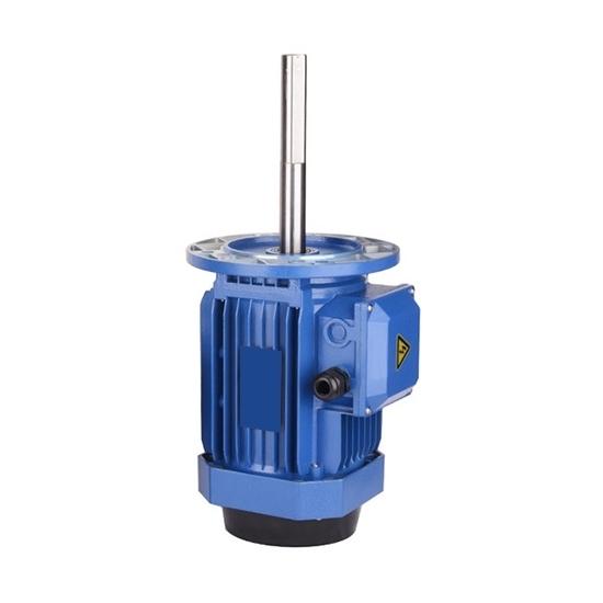 60/90/120W 140mm Long Shaft Induction Motor, 2700 rpm