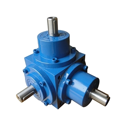 100 hp 1500 rpm Spiral Bevel Right Angle Gearbox, 1:1/ 2:1
