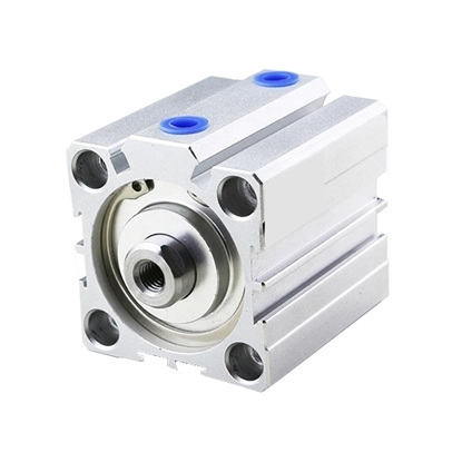 Compact Pneumatic Cylinder, 100mm Bore, 100mm Stroke, Double acting