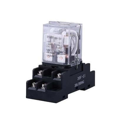 Electromagnetic Relay, DPDT, 12/24/48/110/220V