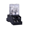 Picture of Electromagnetic Relay, DPDT, 12/24/48/110/220V