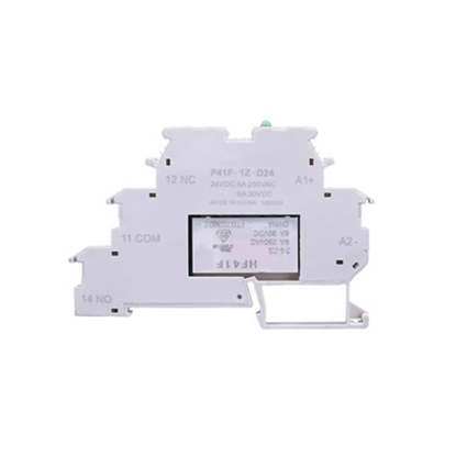 Slim Interface Electromagnetic Relay, SPDT, 24V DC