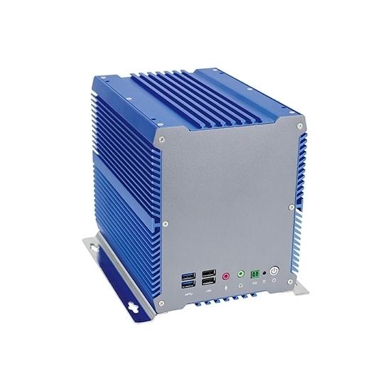 Embedded Fanless Industrial PC, Celeron 3865U, Linux/Win 7