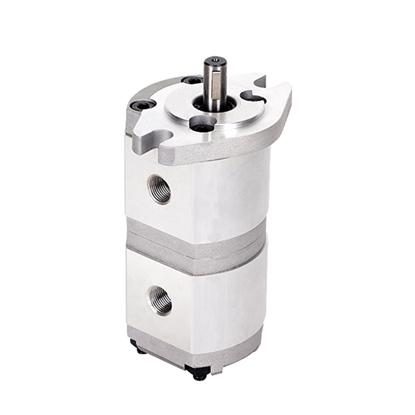 1/2/4/5 GPM Hydraulic Tandem Gear Pump, 3600 psi