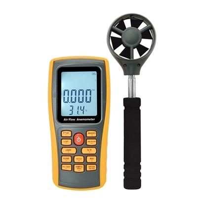 Digital Vane Anemometer, 0~45 m/s, Handheld