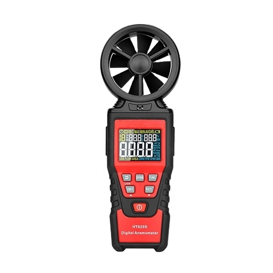 Digital Vane Anemometer, 0.4~30 m/s, Handheld